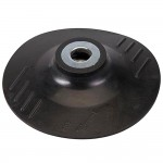 "Silverline Rubber Backing Pad 4 1/2"" - 115mm"