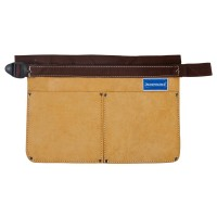 Silverline Leather Nail Pouch 2 Pockets