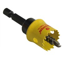 Starrett Smooth Cutting Holesaw With Arbor 19mm