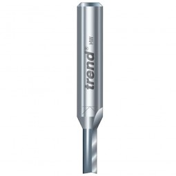 Trend 3/01 x 1/4in Shank TCT Twin Flute Straight Router Cutter