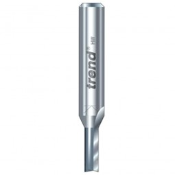 Trend 3/12 x 1/4in Shank TCT Twin Flute Straight Router Cutter