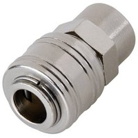 Silverline Euro Air Line 1/4in BSP Female Thread Quick Coupler