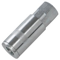 Silverline Quick Release 1/4in Female Thread Air Line Fittings X 2