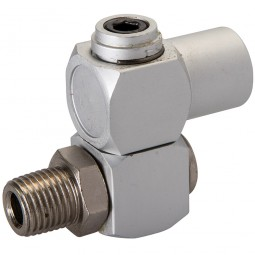 Silverline Air Line Swivel Connector
