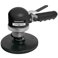 Silverline Dual Action Air Sander 6in / 150mm