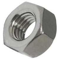 Hexagonal A2 Stainless Steel Nuts M6 - 10 Pack