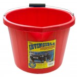 Airflow Heavy Duty Invincible Builders Bucket Red 3 Gallon 15 Litre