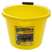 Airflow Heavy Duty Invincible Builders Bucket Yellow 3 Gallon 15 Litre