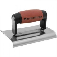 Marshalltown M136D Cement Edger Curved 6in x 3in