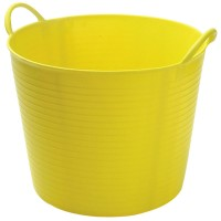 Gorilla Bucket Tub 42 Litre Yellow