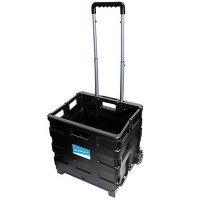 Silverline Folding Box Trolley 25kg Capacity