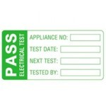 Portable Pat Testing Labels