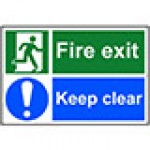 Fire Door and Exit Signs