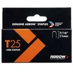 Arrow T25 Crown Staples