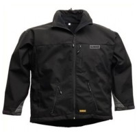DeWalt DWC3-001 Black Windstopper Fleece Jacket - Medium