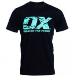 OX Workwear Crew Neck T-Shirt Black Medium
