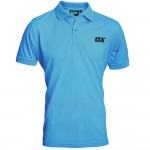 OX Workwear Polo Shirt Blue Large