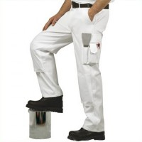 Portwest Painters White Trousers Medium