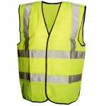 Silverline Hi-Viz Traffic Waistcoat - Medium