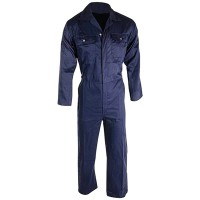 Silverline Boilersuit Navy Blue - Large
