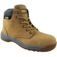 DeWalt Builder Safety Work Boots Nubuck Wheat  Size 7