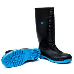 OX Safety Wellington Boots Steel Toe and Midsole Size