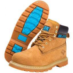 OX Safety Work Boots Steel Toe and Midsole Size