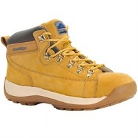 Portwest Nubuck Safety Work Boots Honey Colour Size 8