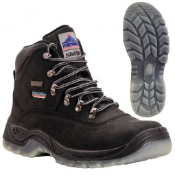 Portwest Steelite Aqua All Weather Safety Work Boots Black S3 UK