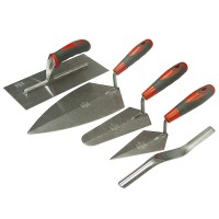 Faithfull Trowel Set with Soft Grip Handles - 5 Piece