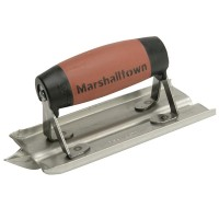 Marshalltown M180D Durasoft Stainless Steel Cement Edger 6in x 3in