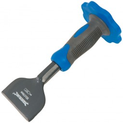 Silverline Brick Bolster Chisel With Hand Guard 102mm