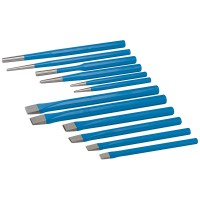 Silverline Punch and Chisel Set - 12 Piece