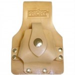 Priory 364 Scaffolders Tanned Leather Tape Measure Holder Small