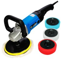Silverline Variable Speed Trade Sander Polisher and 5 Heads