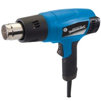 Silverline 127655 Hot Air Heat Gun 2000 Watt