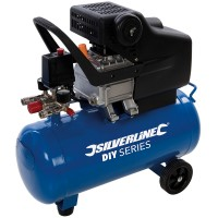 Silverline 2HP Air Compressor 25 Litre 1500W 240V