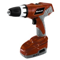 Einhell RT-CD144 Red Cordless Drill Driver 2 Batteries 14.4V