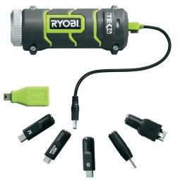Ryobi RP4900 Cordless Travel Charger for Phones and Devices TEK4 Naked