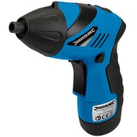 Silverline DIY Li-Ion Mini Cordless Screwdriver Set 3.6 Volt