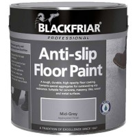 Blackfriar Anti-Slip Floor Paint Indoor or Outdoor 1 Litre Black