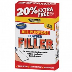 Everbuild All Purpose Powder Filler White - 400gm