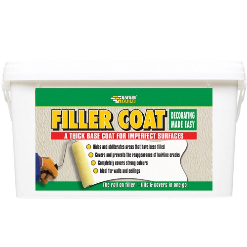 Roll On Filler Paint For Walls