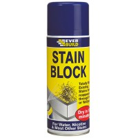 Everbuild Stain Block Spray Paint - 400ml