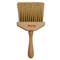 "Purdy Jambduster 4"" Dusting Brush Wooden Handle Lily Bristle"