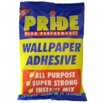 Pride All Purpose Super Strong Wallpaper Adhesive Paste 12 Pint Mix