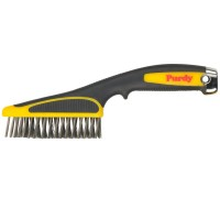 Purdy Wire Brush Short Handle with Easy Grip
