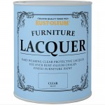 Rust-Oleum Clear Furniture Lacquer Matt Finish 750ml