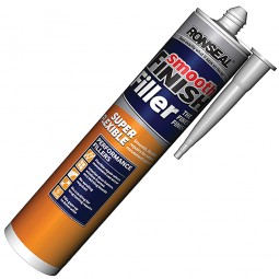 Ronseal Super Flexible Smooth Finish Wall Filler Tube - 300ml