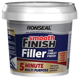 Ronseal 5 Minute Multi Purpose Smooth Finish Filler Ready Mix - 290ml